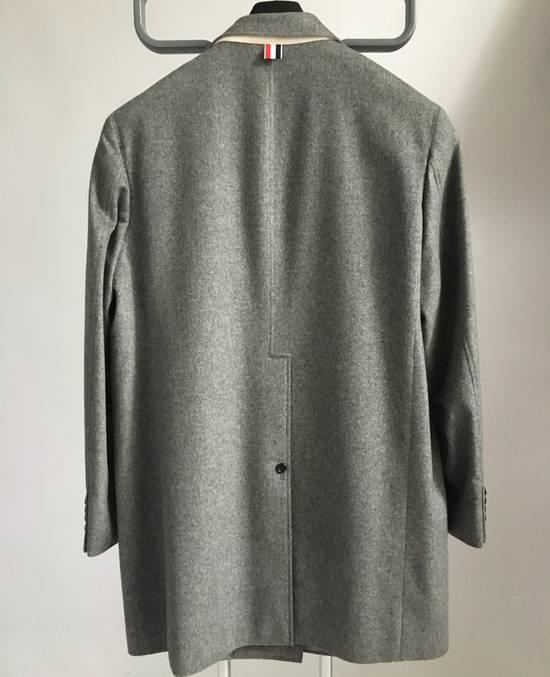 Thom Browne 100% Cashmere Patch Pocket Coat Size US XL / EU 56 / 4 - 6