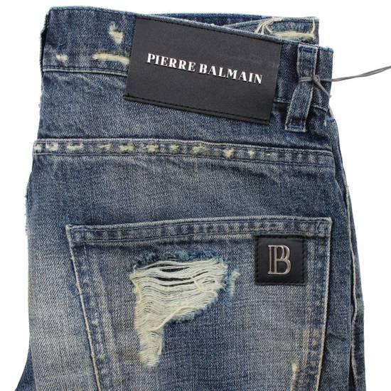 Balmain Pierre Balmain Distressed Moto Biker Jeans Size 32 Made in Italy Size US 32 / EU 48 - 7