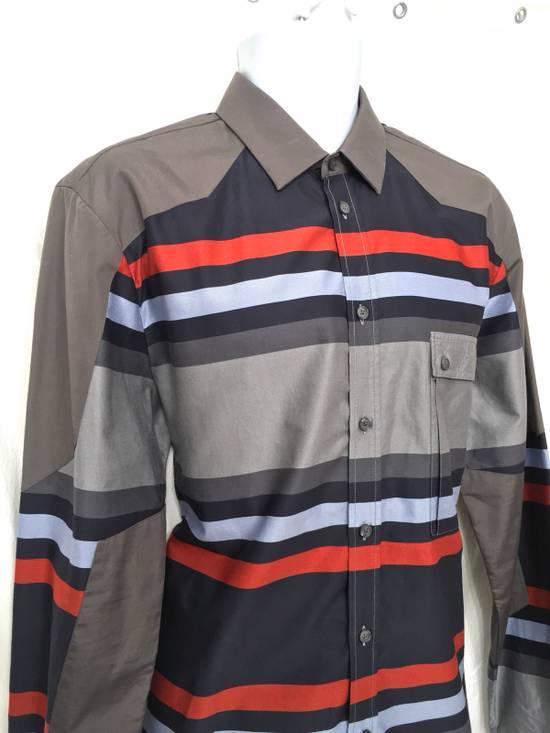 Givenchy Givenchy Paris Gray Horizontal Striped Button Shirt Size US L / EU 52-54 / 3 - 2
