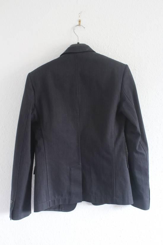 Balmain SS11 Campaign Decarnin Era Striped Pins Blazer Size 50R - 7