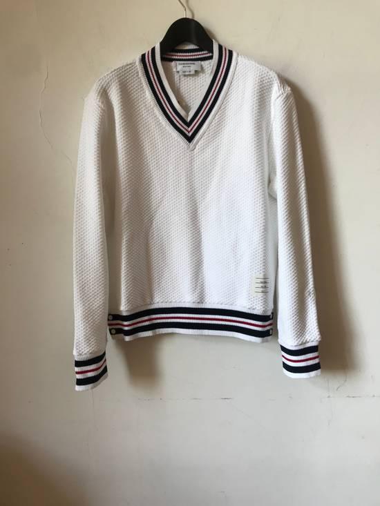 Thom Browne boxy v neck pullover Size US L / EU 52-54 / 3