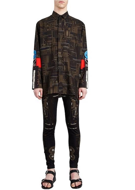 Givenchy Givenchy Dark Circuit 17 Deck Tape Rottweiler Shark Oversized Shirt size 40 (L) Size US L / EU 52-54 / 3 - 2