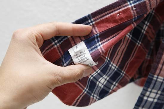Thom Browne Soft Checked Flannel Shirt Size US L / EU 52-54 / 3 - 3