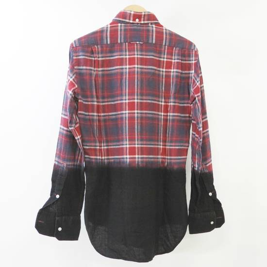 Thom Browne Long Sleeve Red × Blue × Black Checkered Pattern Shirt Button Up Size US L / EU 52-54 / 3 - 1