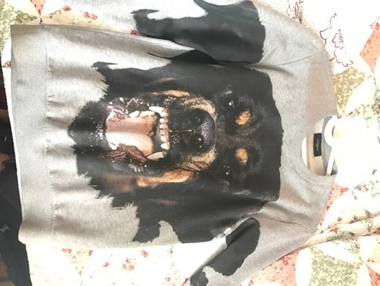 Givenchy Rottweiler Printed Grey Sweater Size US XS / EU 42 / 0 - 2