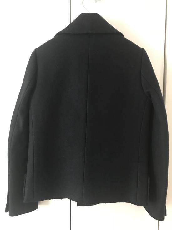 Balmain Navy Short Cut Pea Coat Size US S / EU 44-46 / 1 - 6