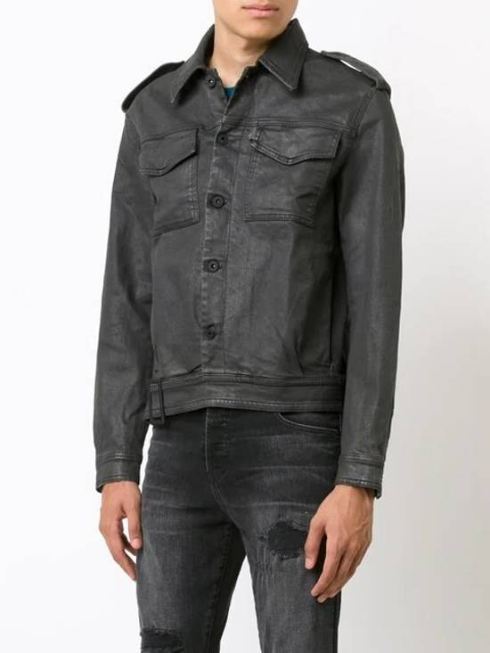 Off-White Belted Denim Jacket Size US M / EU 48-50 / 2 - 4