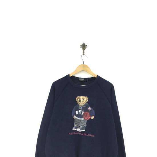 Polo Ralph Lauren Vintage Polo Bear By Ralph Lauren Crew Neck Sweatshirts Big Logo SpellOut Prints Jumper Pullover Sportswear Streetwear Activewear Size US L / EU 52-54 / 3 - 1