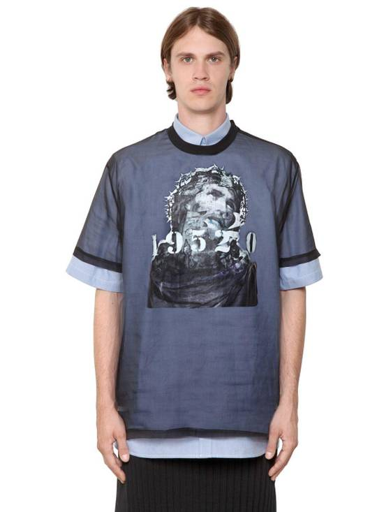 Givenchy Givenchy Jesus Christ Silk Organza Sheer Madonna Oversized T-shirt size XS (L) Size US XS / EU 42 / 0 - 1