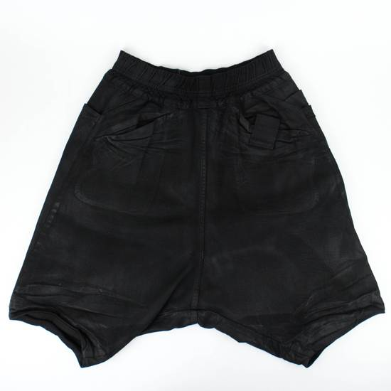Julius 7 Black Sarqouel Stretch Denim Shorts Size M Size US 34 / EU 50 - 1