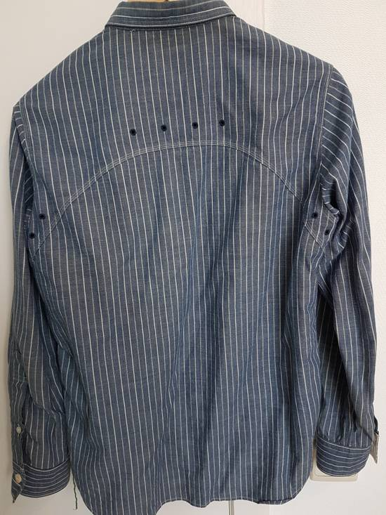 Sunny Sports Striped vented chambray work shirt Size US XS / EU 42 / 0 - 6