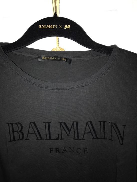Balmain Logo T Shirt Size US M / EU 48-50 / 2 - 1
