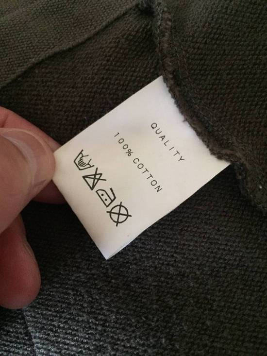 Julius Japan made long jersey oversize Popper fastening Gasmask pocket jacket Size US S / EU 44-46 / 1 - 12