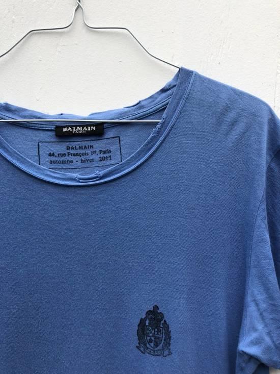 Balmain Decarnin Era Balmain Crest T-shirt Size US S / EU 44-46 / 1 - 1