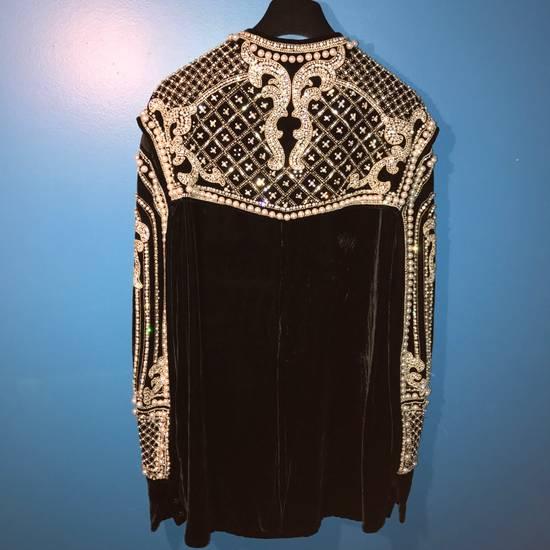 Balmain Balmain Fall 2012 Swarovski Crystal & Pearl Jacket Size US XL / EU 56 / 4 - 9