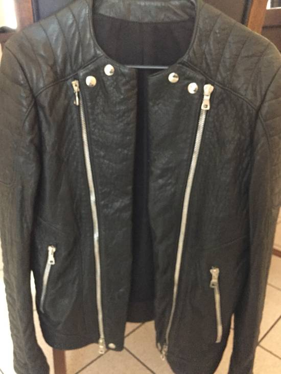 Balmain Classis Leather Jacket Size US M / EU 48-50 / 2
