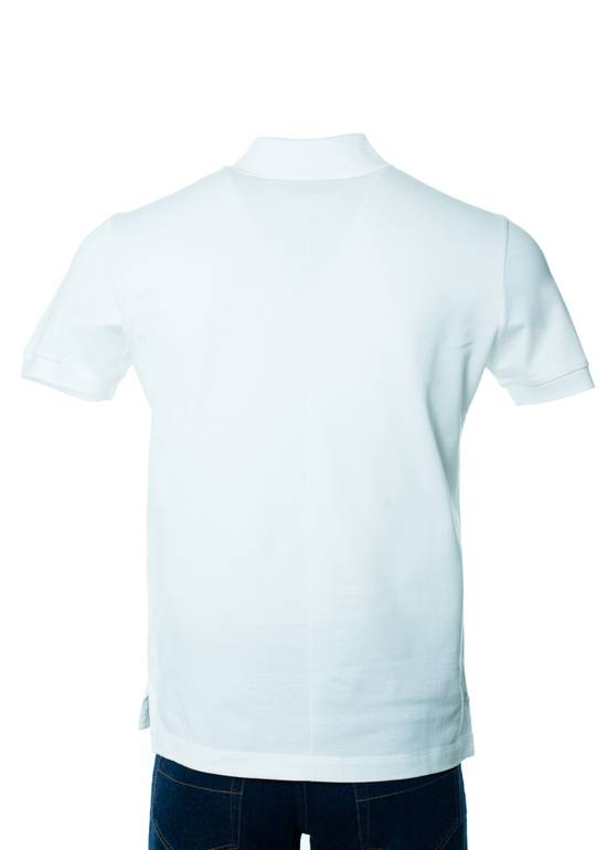 Givenchy Givenchy Men's Solid White Short Sleeve Polo Shirt Size US S / EU 44-46 / 1 - 2