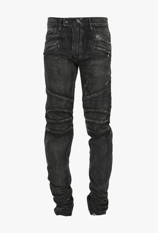 Balmain AW14 biker denim jeans Size US 30 / EU 46