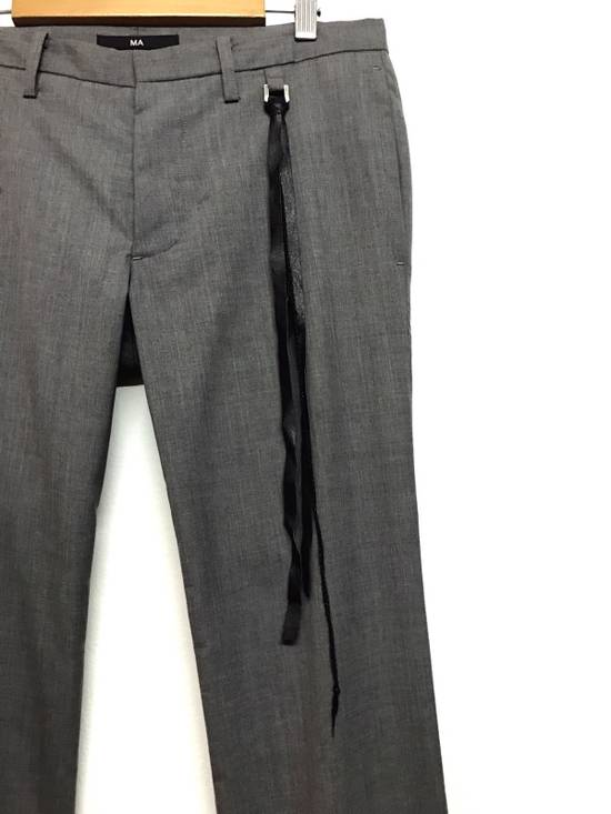 Julius S/S09 MA JULIUS_7 COLLECTION THIN WOOL PANT Size US 32 / EU 48 - 5