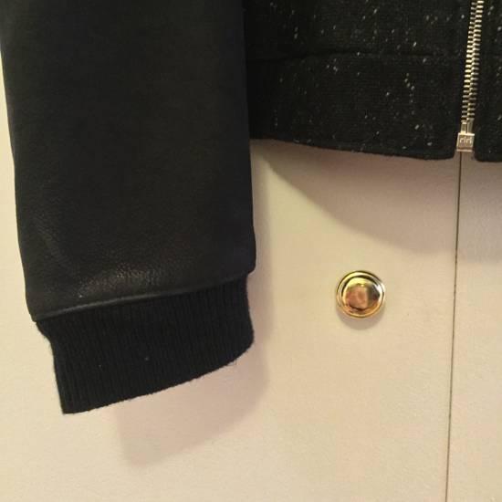 Thom Browne Calf Leather sleeve Wool bomber Size US L / EU 52-54 / 3 - 3