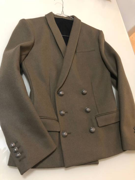 Balmain Army Double Breasted Blazer Size 46R - 1