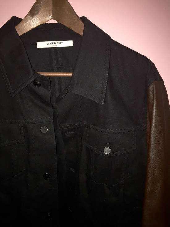 Givenchy Denim and Leather Jacket Size US L / EU 52-54 / 3 - 3