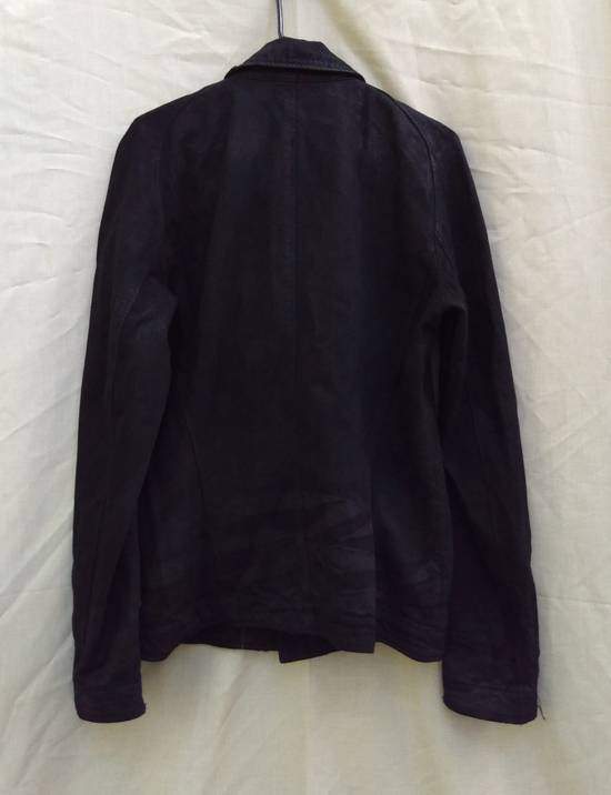Julius Black Denim Moto Jacket f/w10 Size US L / EU 52-54 / 3 - 3