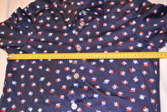 Givenchy Givenchy shirt blue vintage France flag print made in Italy size XS Size US XS / EU 42 / 0 - 5