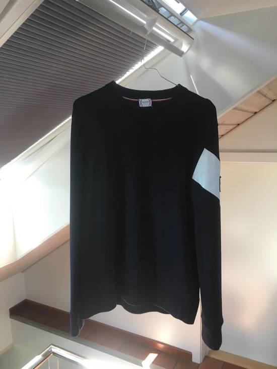 Thom Browne Moncler gamme bleu chevron sweatshirt Size US L / EU 52-54 / 3