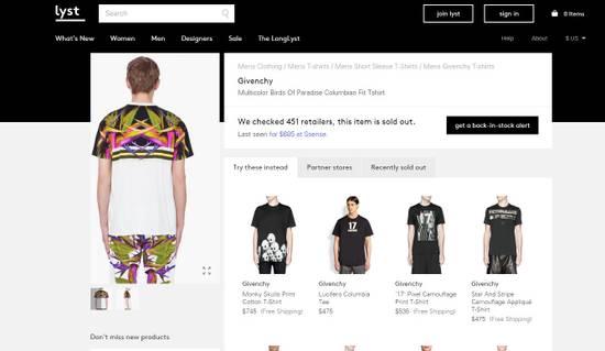 Givenchy Birds of Paradise shirt SS12 Size US M / EU 48-50 / 2 - 6