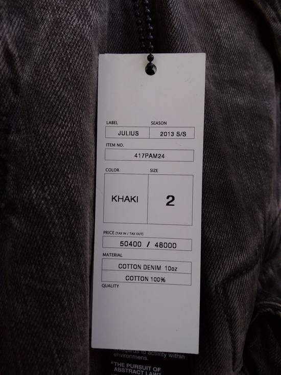 Julius Green Denim Gas Mask Cargo Pants s/s 13 Size US 31 - 2