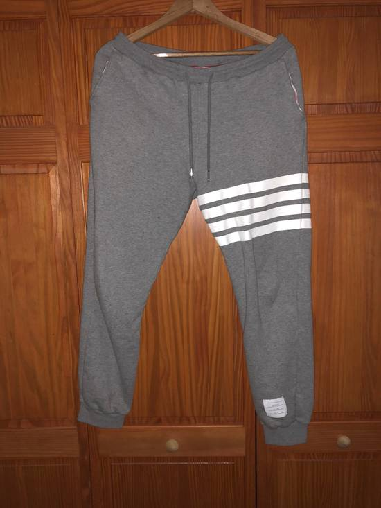 Thom Browne Grey Sweatpants/Joggers Size US 30 / EU 46