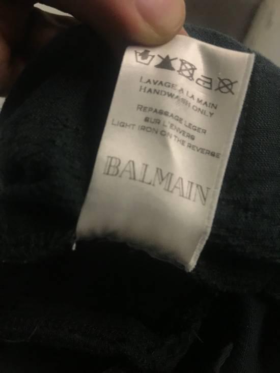 Balmain Corduroy Biker Pants Size US 28 / EU 44 - 5