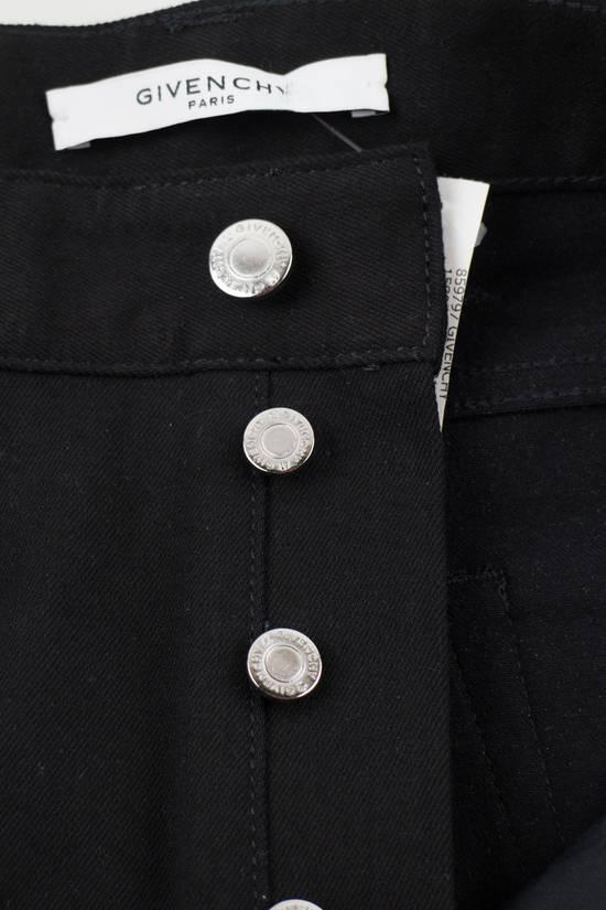 Givenchy Black Cotton Blend Denim Jeans Pants Size US 30 / EU 46 - 5