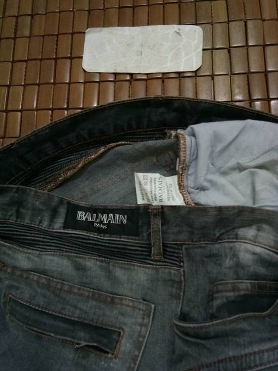 Balmain Rare Grey Balmain Denim Nice Faded Design Size US 36 / EU 52 - 8