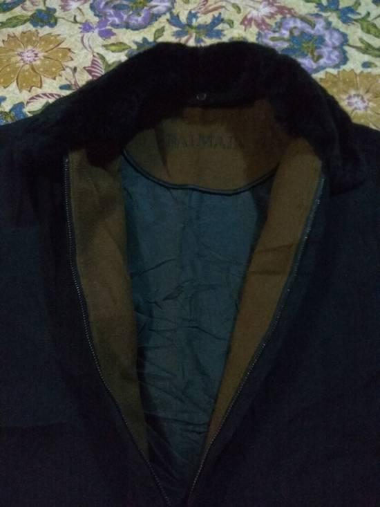 Balmain Vintage Jacket Wool With Fur BALMAIN Rare Size US L / EU 52-54 / 3 - 5