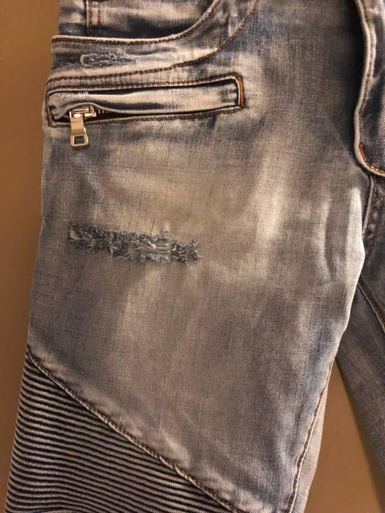 Balmain Distressed Jeans Size US 32 / EU 48 - 4