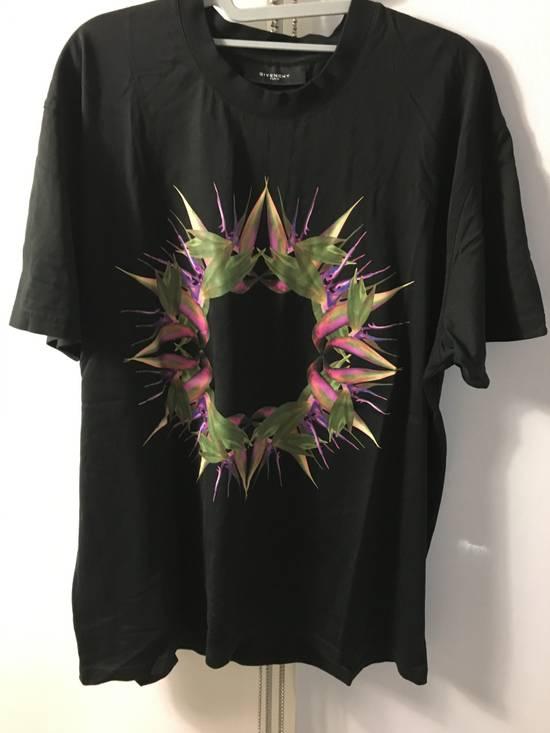 Givenchy Mint Birds of Paradise T-shirt Size US L / EU 52-54 / 3