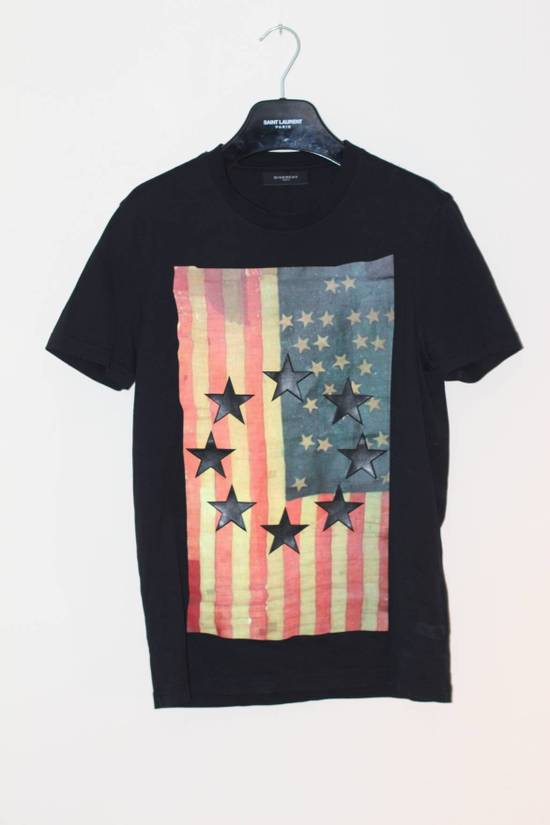 Givenchy Leather Embossed Flag Tee Size US XS / EU 42 / 0