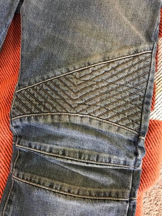 Balmain Balmain Classic Biker Jeans Size US 30 / EU 46 - 2