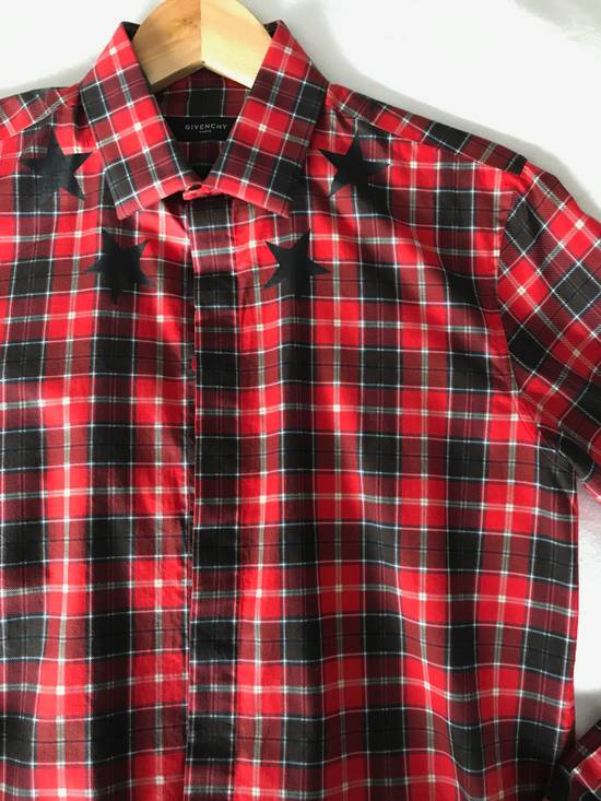 Givenchy Red Check Star shirt Size US S / EU 44-46 / 1 - 9