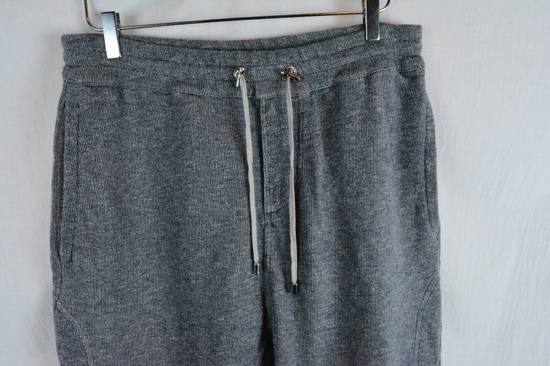 Balmain rey Biker Sweatpants Joggers Pants Drawstring Drop Crotch Medium Size US 32 / EU 48 - 1