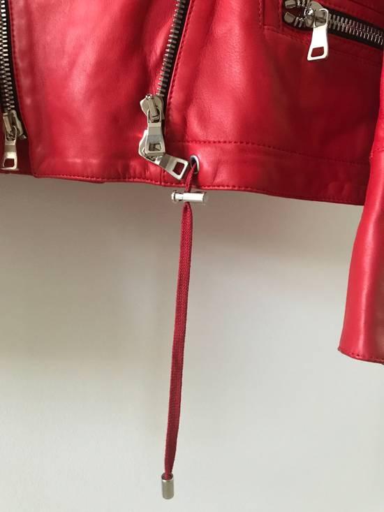 Balmain Nappa Leather Biker Jacket Size US M / EU 48-50 / 2 - 4
