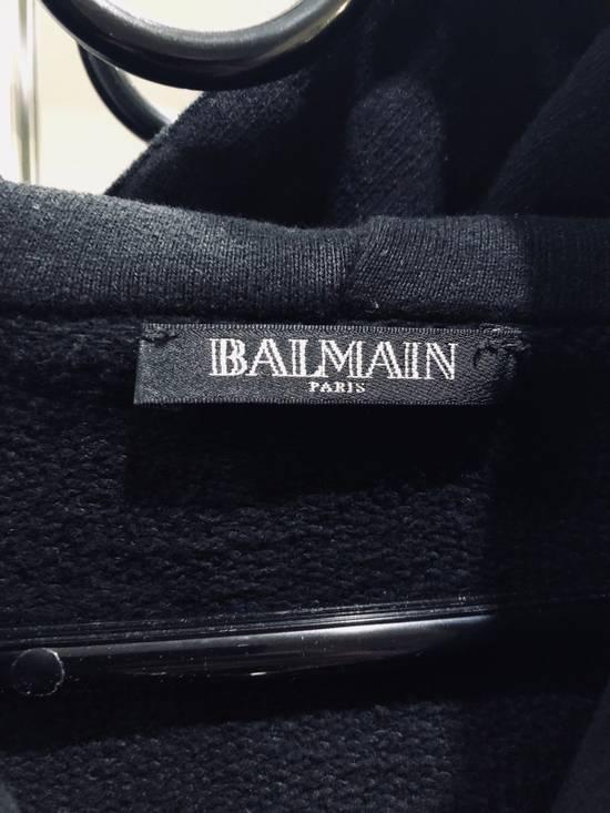 Balmain Black Zip Hoodie Size US M / EU 48-50 / 2 - 9