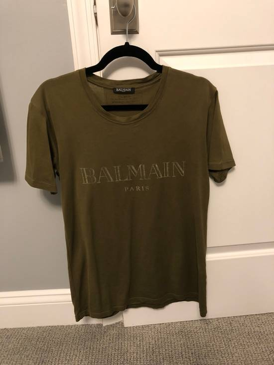 Balmain Balmain SS17 Army Logo T-Shirt Size US XS / EU 42 / 0