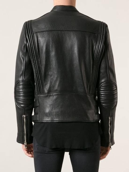 Balmain 2014FW Lambskin Biker Jacket Size US M / EU 48-50 / 2 - 2