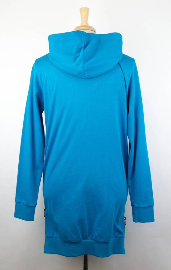 Balmain Men's Turquoise Cotton Zip-Up Long Hoodie Sweater Size Medium Size US M / EU 48-50 / 2 - 2