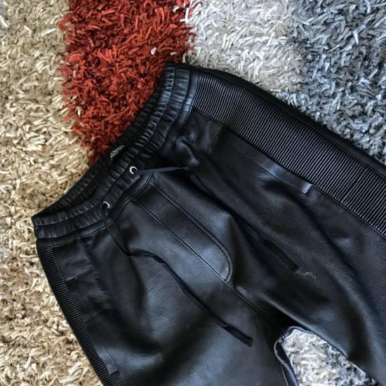 Balmain Leather Bikers Size US 32 / EU 48 - 5