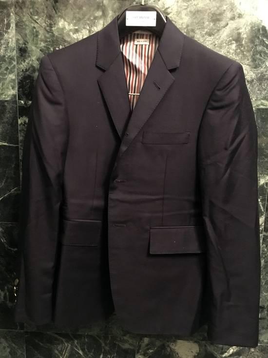 Thom Browne Classic navy wool blazer Size 36R
