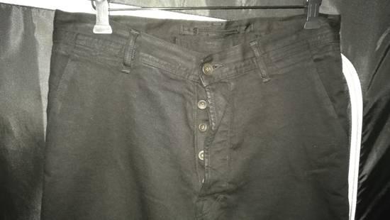 Julius Limited Wrinkle Arch Knee Bottom Zip Biker Jeans Size US 31 - 2